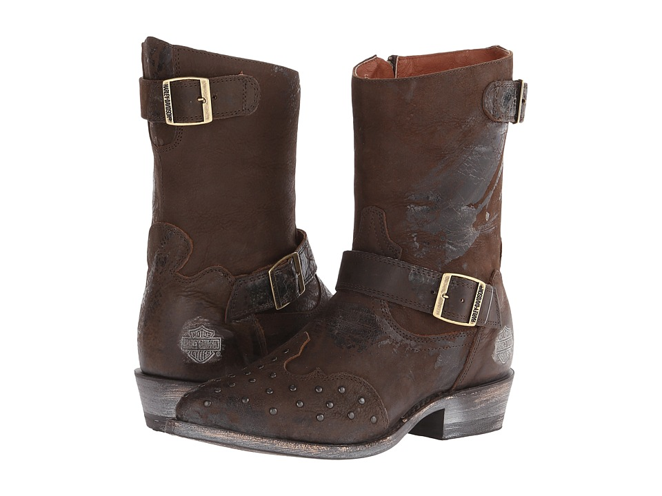 Harley-Davidson Everly (Brown) Cowboy Boots