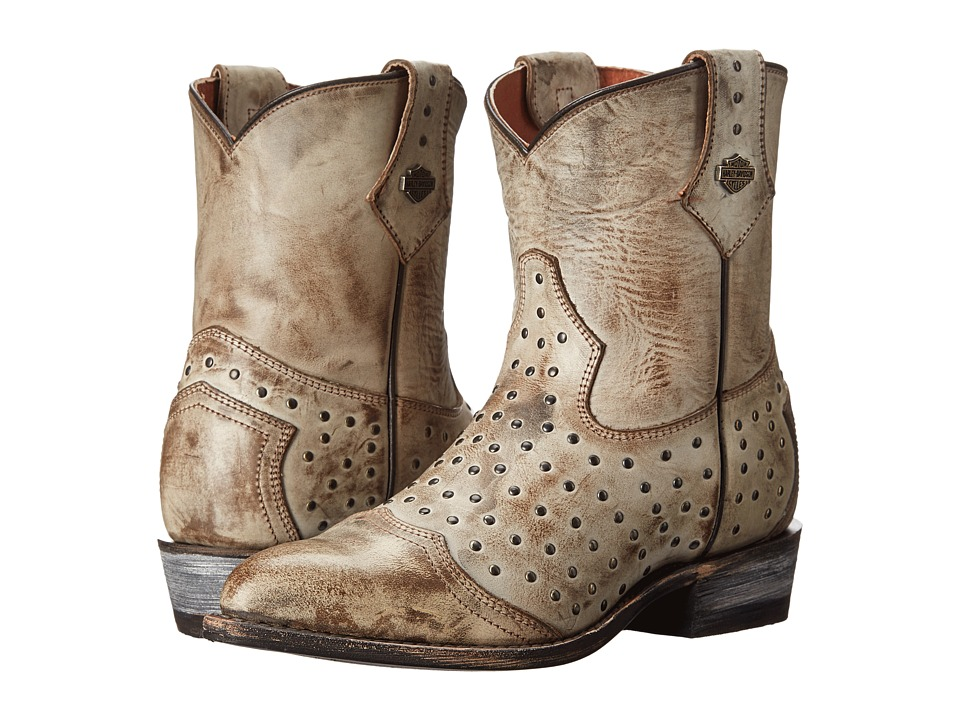 Harley-Davidson Violet (Brown) Cowboy Boots