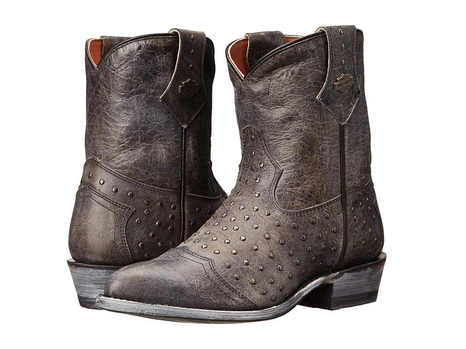 Harley-Davidson - Violet (Black) Cowboy Boots