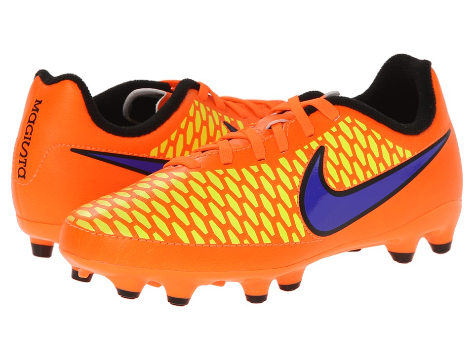 Nike Kids - Jr Magista Onda Firm Ground Soccer (Toddler/Little Kid/Big Kid) (Total Orange/Laser Orange/Hyper Punch/Persian Violet) Kids Shoes