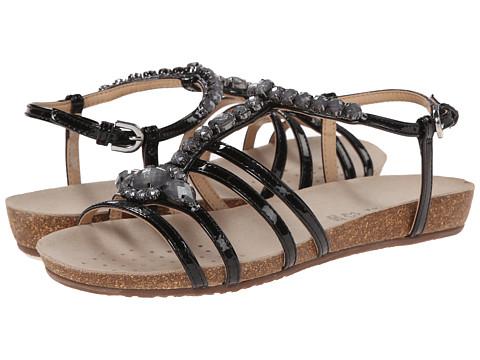 Geox - D Vinca 3 (Black) Women's Sandals