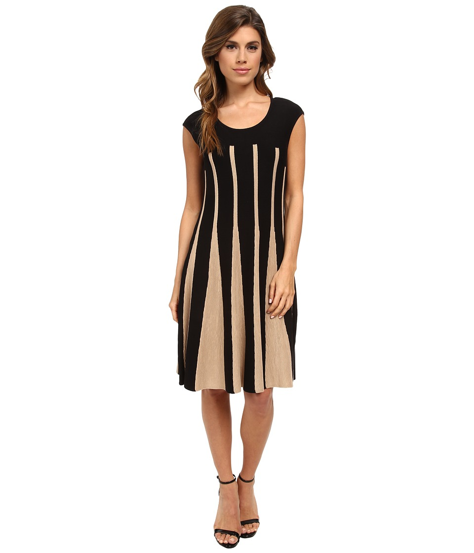 NIC+ZOE Linear Lines Twirl Dress (Multi) Women