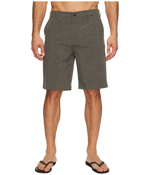 Hurley - Phantom Boardwalk Short (Heather Black 2) Men