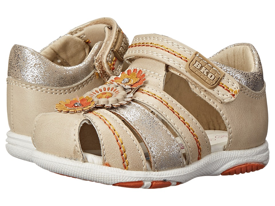 Beeko - Abbie II (Toddler) (Beige) Girl's Shoes