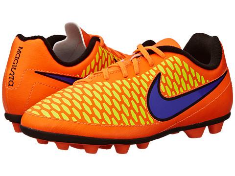 Nike Kids - Jr Magista Ola FG (Toddler/Little Kid/Big Kid) (Total Orange/Laser Orange/Hyper Punch/Persian Violet) Kids Shoes