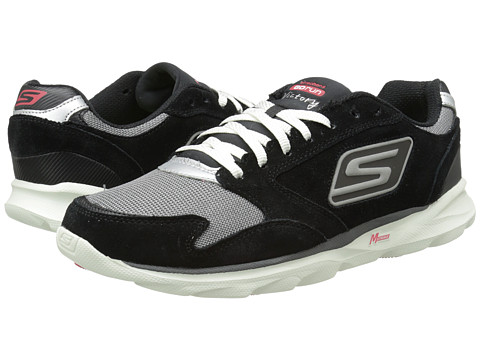 SKECHERS - Go Run - Sonic Victory (Black/Gray) Men's Shoes