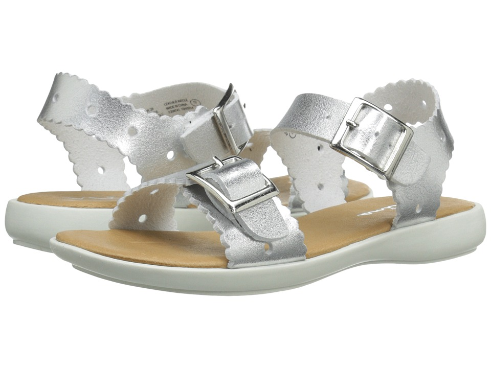 Nina Kids - Elena (Toddler/Little Kid) (Silver Nappa) Girls Shoes