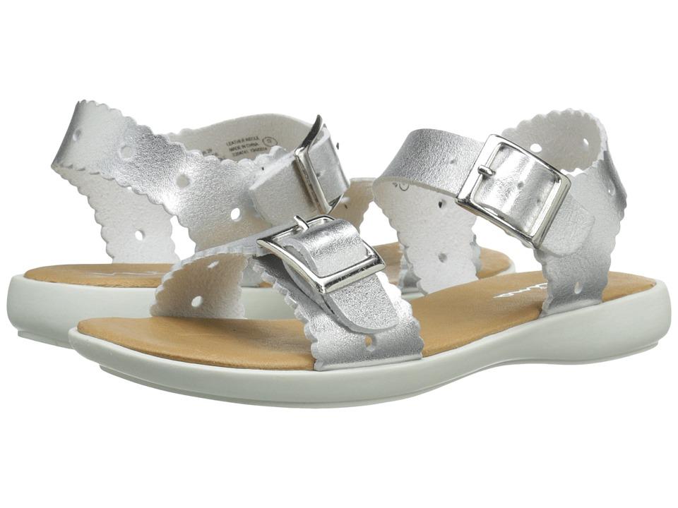 Nina Kids - Elena (Toddler/Little Kid) (Silver Nappa) Girls Shoes