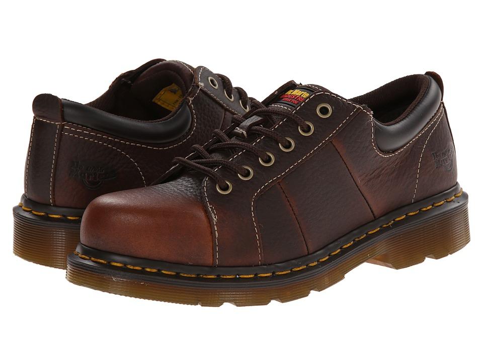 Dr. Martens Work - Mila ST (Teak Industrial Bear Track) Women's Work Boots