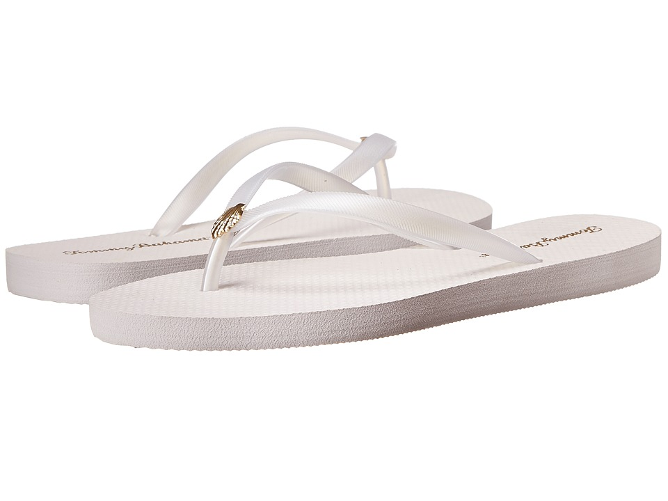 Tommy Bahama Whykiki Flat Solid (White) Women