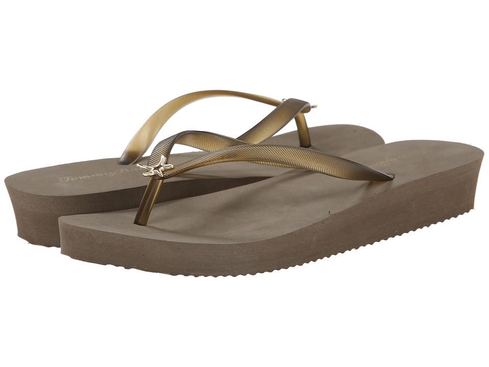 Tommy Bahama - Whykiki Wedge Solid (Elephant) Women's Wedge Shoes