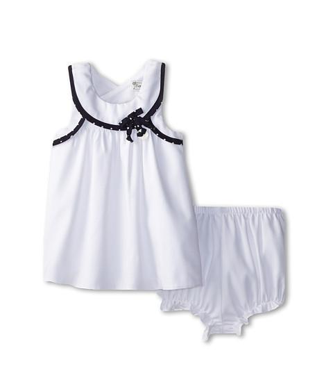Pippa & Julie - Nautical Flyaway Back Dress Set (White) Girl