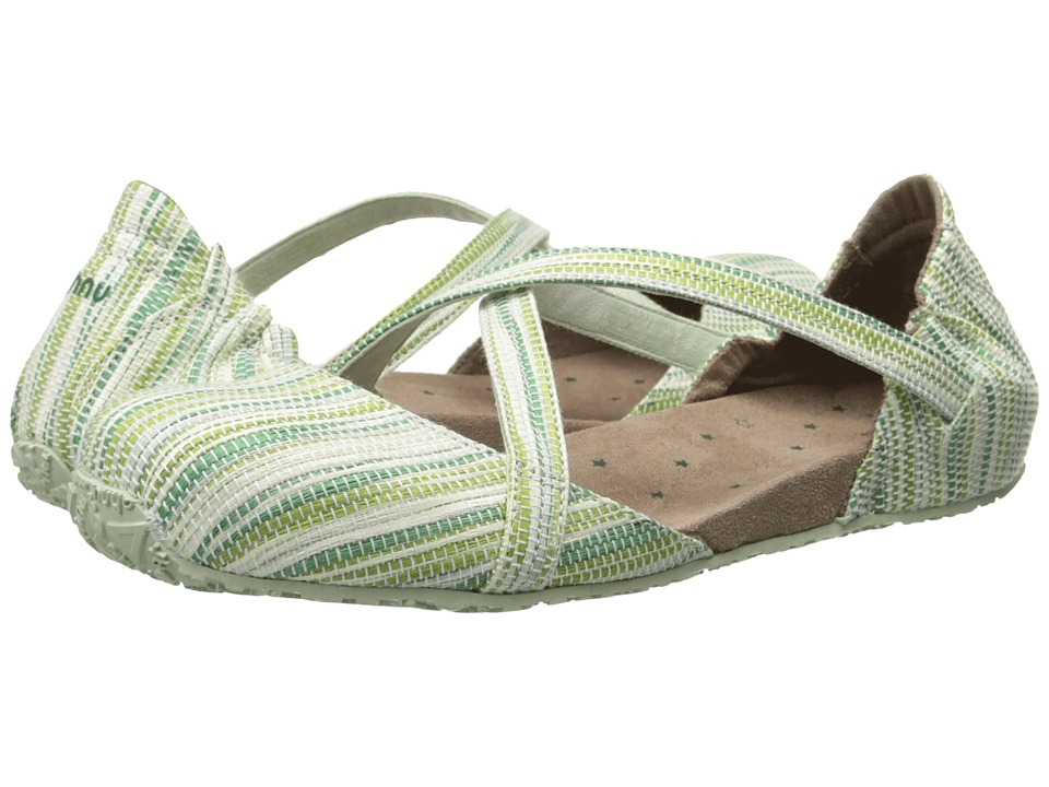 Ahnu - Karma Textile - USA (Meadow) Women's Slip on Shoes