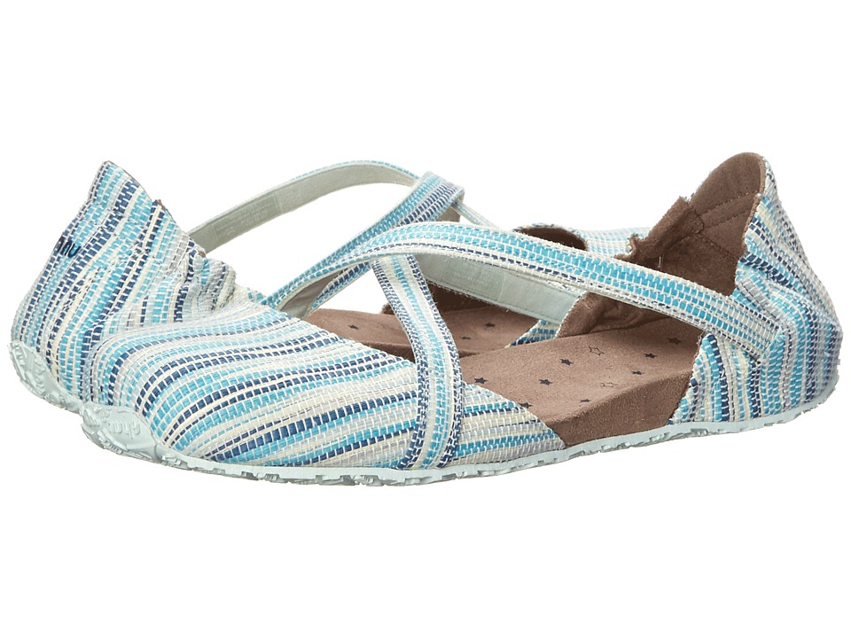 Ahnu - Karma Textile - USA (Poolside) Women's Slip on Shoes