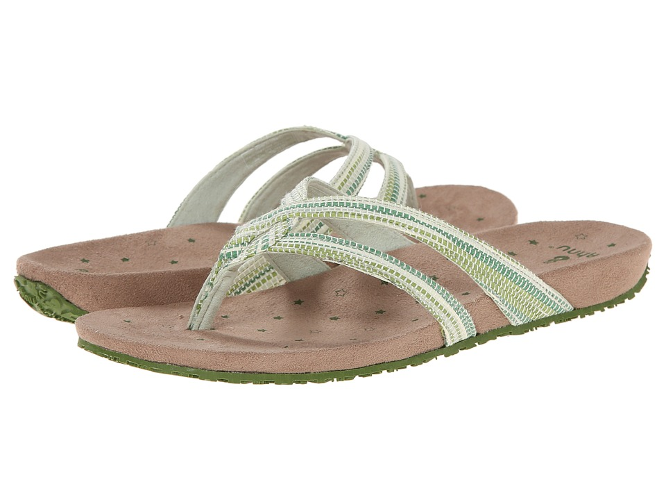Ahnu - Hanaa Textile - USA (Meadow) Women's Sandals