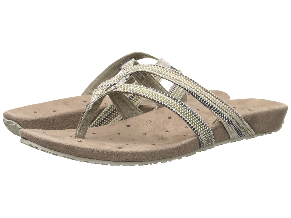 Ahnu - Hanaa Textile - USA (Seagrass) Women's Sandals