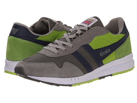 Gola - Katana (Grey/Lime/Navy) Men's Shoes
