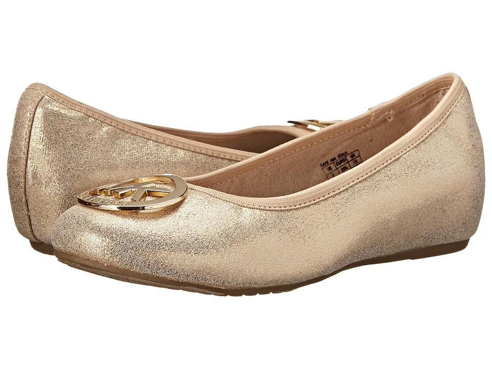 MICHAEL Michael Kors Kids Faye Ria (Little Kid/Big Kid) (Gold) Girls Shoes