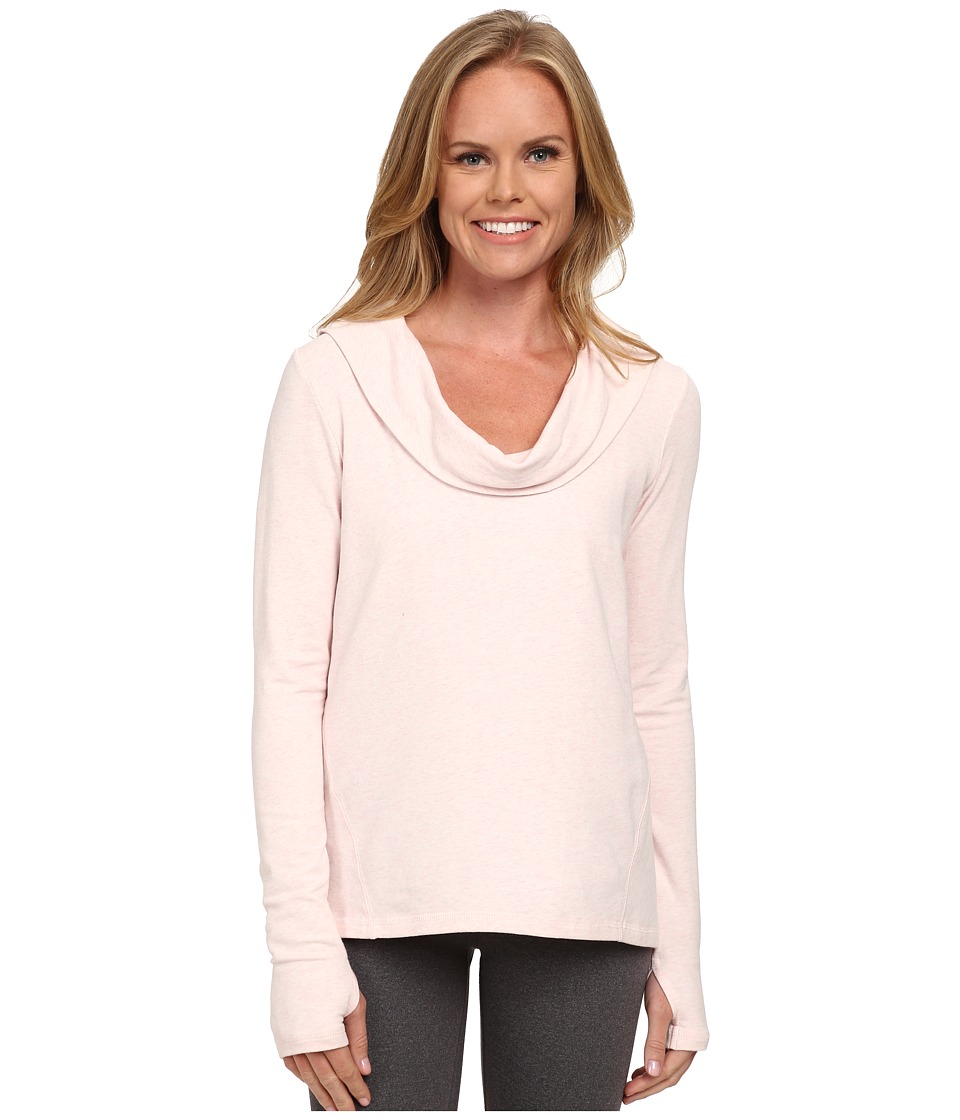 Lucy - Surrender Pullover (Pink Pearl Heather) Women's Long Sleeve Pullover