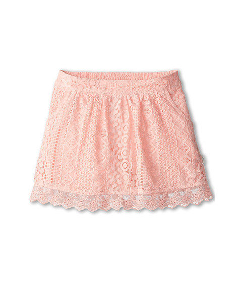 Lucky Brand Kids - Everret Lace Skirt (Little Kids) (Impatients Pink) Girl's Skirt
