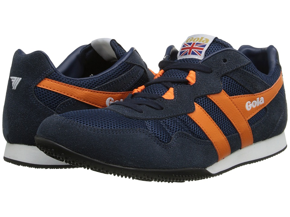 Gola - Sprinter (Navy/Orange) Men's Shoes