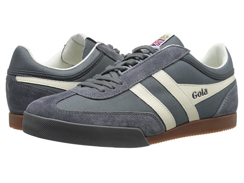 Gola - Super Harrier (Graphite/White) Men's Shoes