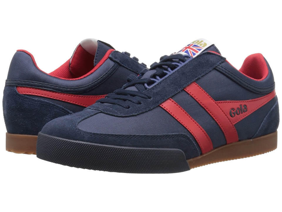 Gola - Super Harrier (Navy/Red) Men's Shoes