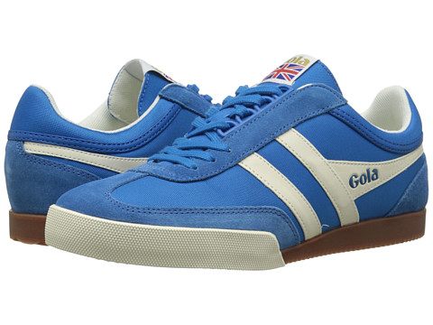 Gola - Super Harrier (Electric Blue/Ecru) Men's Shoes