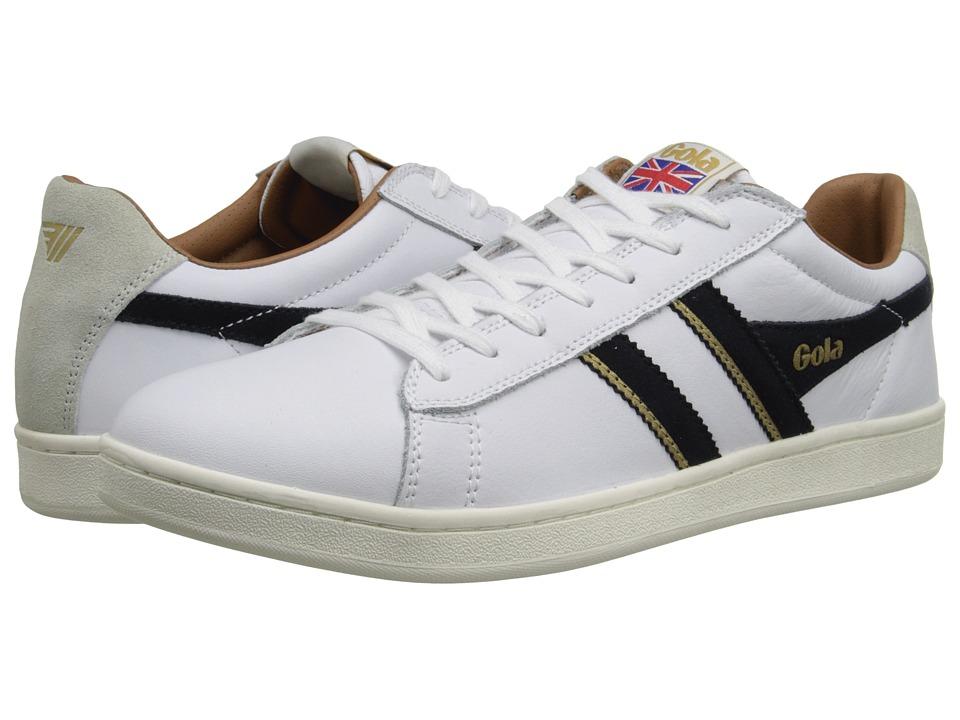 Gola - Equipe (White/Navy) Men's Shoes