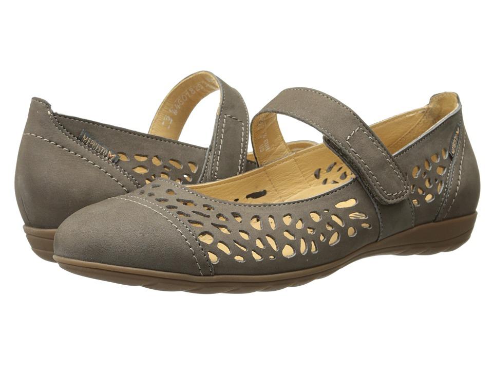Mephisto - Ella (Pewter Bucksoft) Women's Sandals