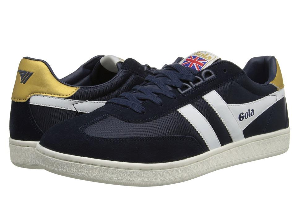 Gola - Europa (Navy/White) Men's Shoes