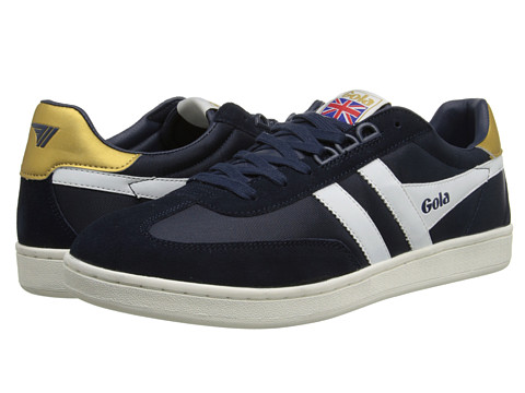Gola - Europa (Navy/White) Men's Shoes
