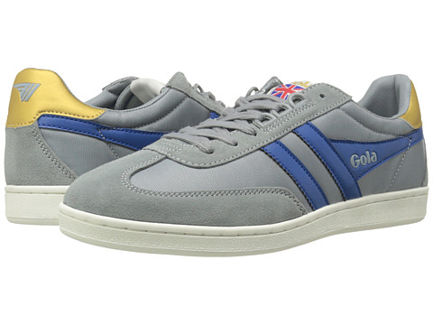 Gola - Europa (Grey/Blue) Men's Shoes