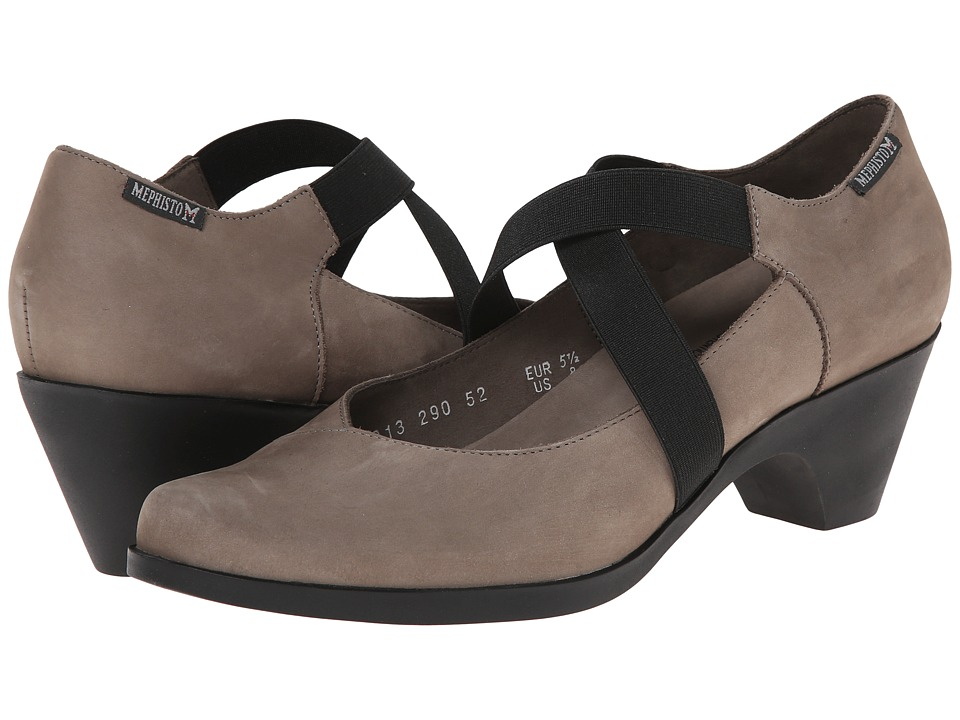 Mephisto Margaret (Light Grey Bucksoft) Women