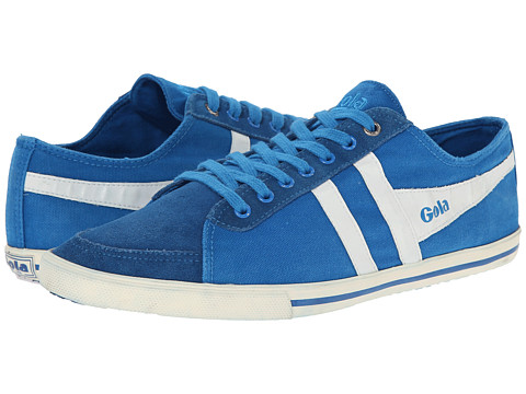 Gola - Quota (Electric Blue/White) Men's Lace up casual Shoes