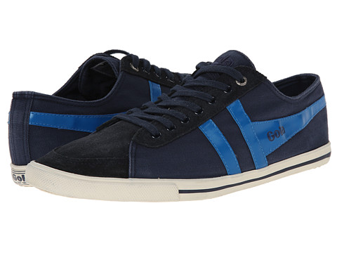 Gola - Quota (Navy/Electric Blue) Men's Lace up casual Shoes