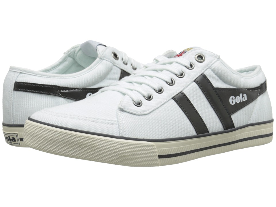 Gola - Comet (White/Graphite) Men's Shoes
