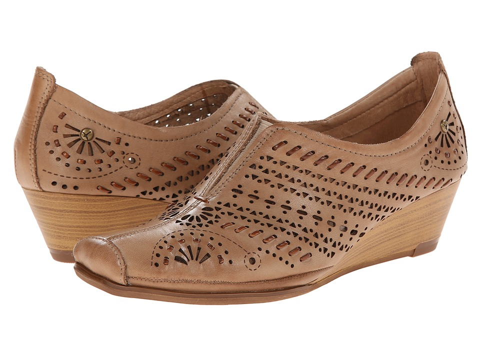 Pikolinos - La Palma W4A-3520 (Castor) Women's Slip on Shoes