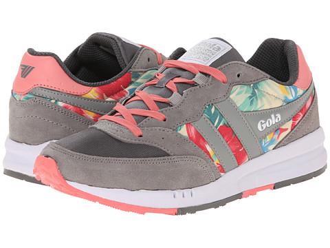 Gola - Samurai Hibiscus (Grey/Pink) Women's Shoes