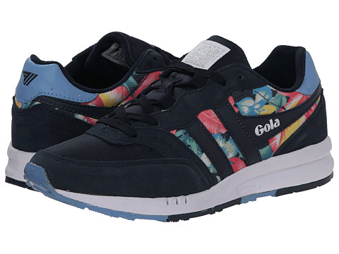 Gola - Samurai Hibiscus (Navy/Pale Blue) Women's Shoes