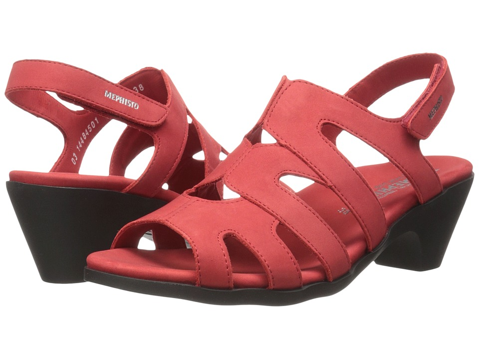 Mephisto Coralie (Strawberry Bucksoft) Women