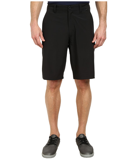 TravisMathew - Spicoli Stretch Shorts (Black) Men's Shorts