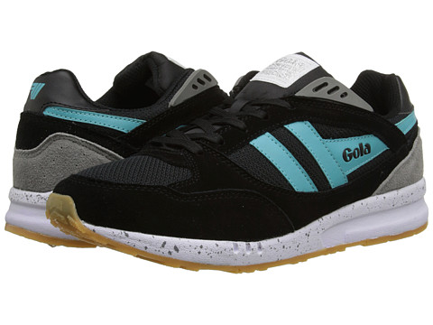 Gola - Shinai (Black/Mint/Grey) Women's Shoes