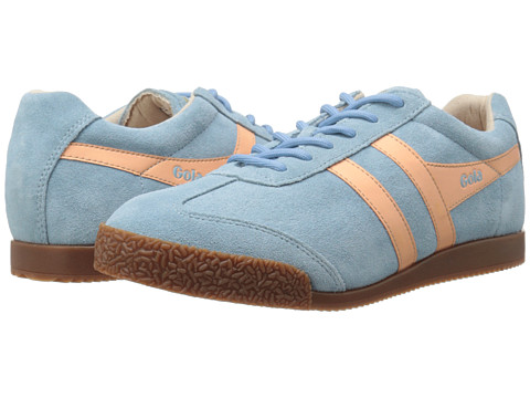 Gola - Harrier (Blue/Coral) Women's Shoes