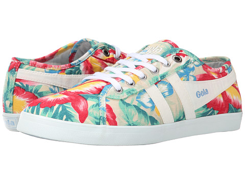 Gola - Jasmine Hibiscus (Ecru/Mint) Women's Shoes