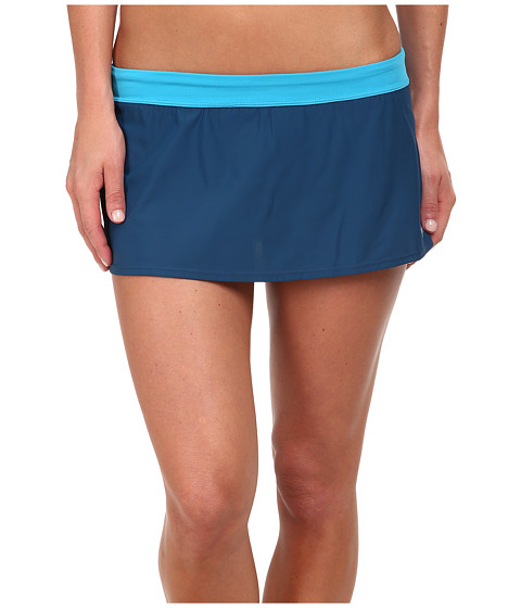Nike - Core Swim Skirt II (Blue Lagoon) Women's Swimwear