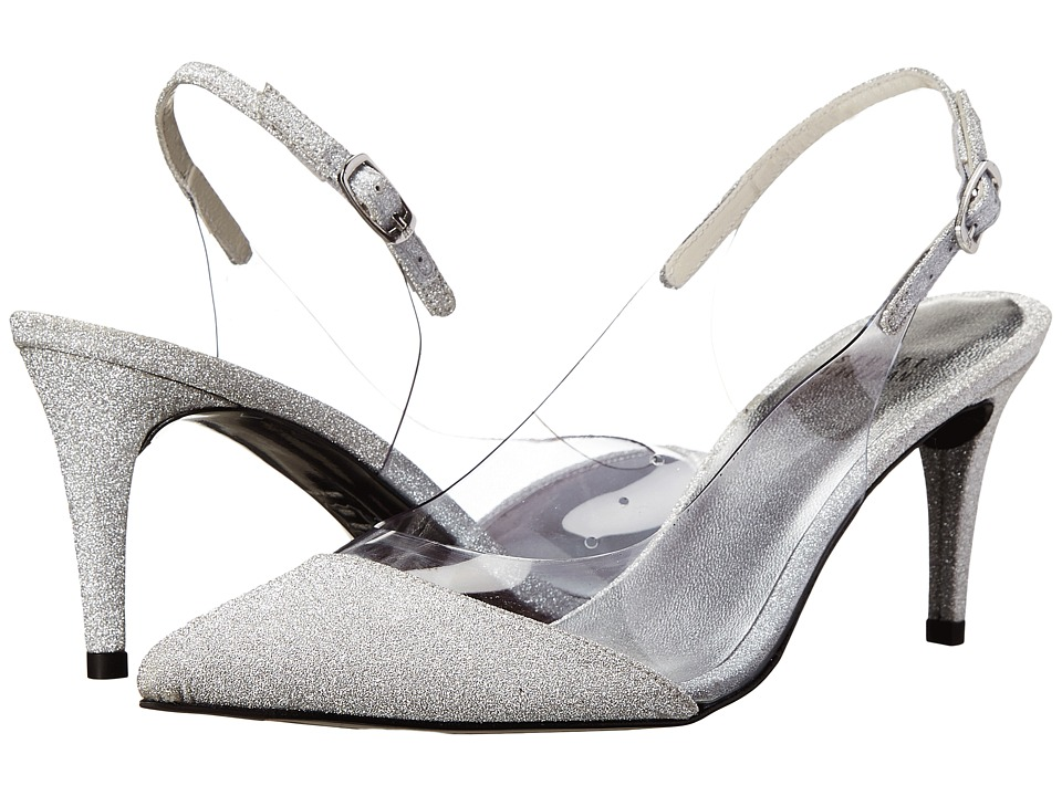 Stuart Weitzman Bridal & Evening Collection Scan (Plata Glitterati) Women