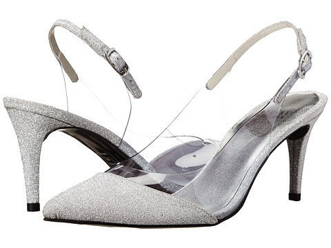 Stuart Weitzman Bridal & Evening Collection - Scan (Plata Glitterati) Women's Shoes