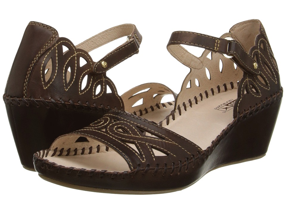 Pikolinos - Margarita 943-0558 (Olmo) Women's Wedge Shoes