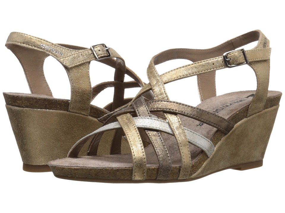 Mephisto Juliette (Light Sand/Silver/Dark Taupe Fashion) Women